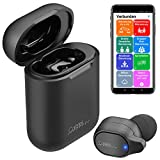 Callstel Ear Buds: 2in1-Live-Übersetzer und In-Ear-Mono-Headset mit Powerbank-Box & App (Headset, Bluetooth)